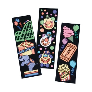 Carnival Bookmarks Craft Kit (Pack of 48) - Image 1 of 2
