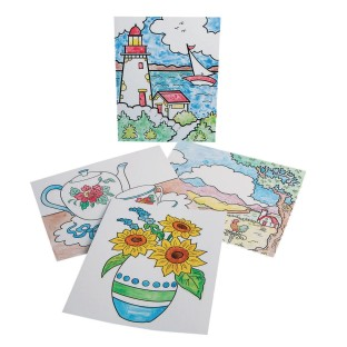 Paint-a-Dot™ Everyday Scenes (Pack of 24) - Image 1 of 4