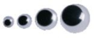 30mm Black Wiggly Eyes - Image 1 of 1