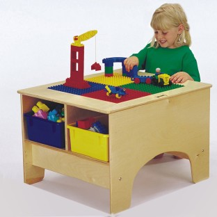 Brick Building Table Without Tubs - Image 1 of 1