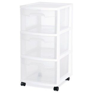 Sterilite® 3-Drawer Storage Cart - Image 1 of 2