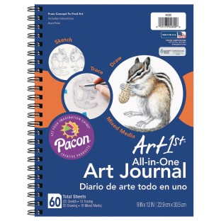 Art1st® All-in-One Art Journal - Image 1 of 1