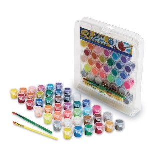 Crayola® Washable Kids' Paint Pot Set - Image 1 of 3