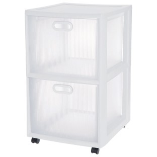 Sterilite® Ultra™ 2-Drawer Cart - Image 1 of 3