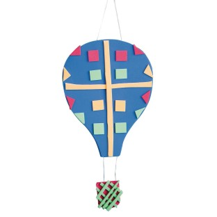 Hot Air Balloon Craft Kit (Pack of 48) - Image 1 of 3