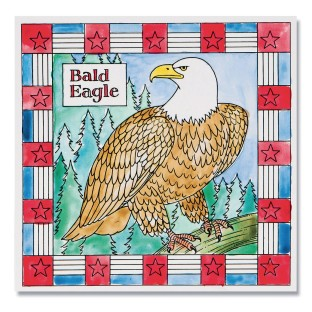 Bald Eagle Paintings (Pack of 12) - Image 1 of 3