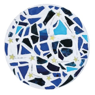 Starry Night Stepping Stone Craft Kit (Pack of 6) - Image 1 of 5