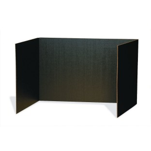 "Black Privacy Boards 48"" x 16"" (Pack of 4) - Image 1 of 1"