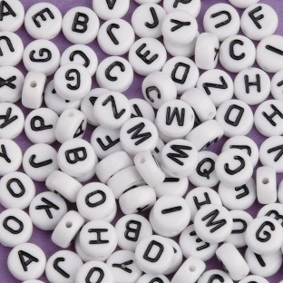 Color Splash!® Alphabet Bead Assortment (Bag of 144) - Image 1 of 1