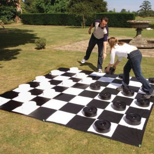 Gianormous Checkers Set - Image 1 of 1
