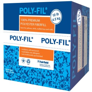 Polyester Fiberfill, 10-lb. box - Image 1 of 1