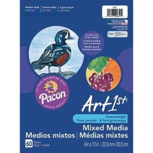 Art1st® Mixed Media Paper (Pack of 60) - Image 1 of 1