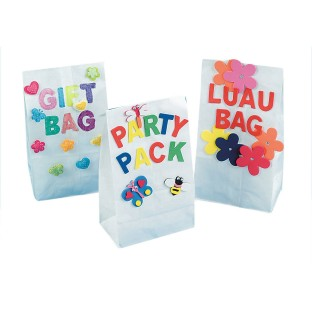 White Paper Bags (Pack of 100) - Image 1 of 1