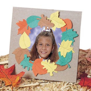 Falling Leaves Frame Craft Kit - Image 1 of 2