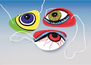 Pirate Eye Patch (Pack of 12) - Image 1 of 1