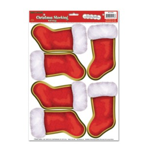 Christmas Stocking Peel 'N Place - Image 1 of 1