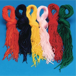 Color Splash!® Yarn Tip Lace Assortment (Pack of 144) - Image 1 of 1