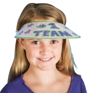 Color-Me™ Paper Visors (Pack of 48) - Image 1 of 4