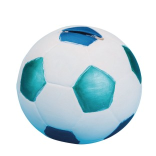 Color-Me™ Ceramic Bisque Soccer Ball Banks (Pack of 12) - Image 1 of 1