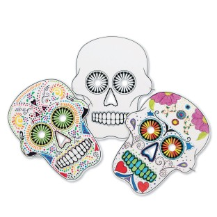Sugar Skull Masks - Image 1 of 5