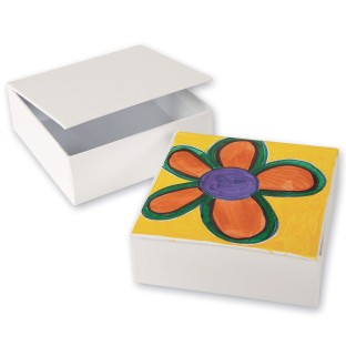 Color-Me™ Square Boxes (Pack of 48) - Image 1 of 2