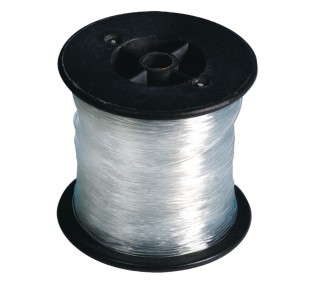 Clear Stretchy Jewelry Cord, 100m (328 ft) spool - Image 1 of 1