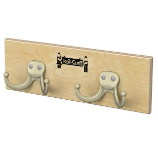 Coat Rail with Hooks, 3 Hook - Image 1 of 1