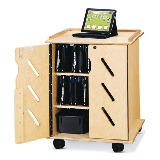 Laptop and Tablet Storage Cart - Image 1 of 2