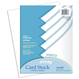 Pacon® Array Card Stock - White (Pack of 100) - Image 1 of 1