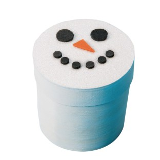 Snowman Box Craft Kit (Pack of 24) - Image 1 of 2
