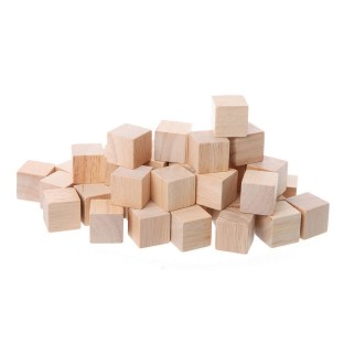 Wooden Cubes - Image 1 of 1