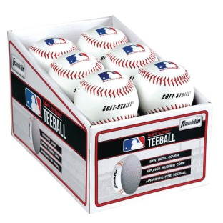 Franklin® Soft Strike Tee Balls (Pack of 12) - Image 1 of 2