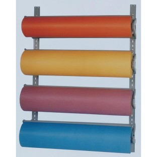 Bulman® Products Four-High Paper Dispenser/Cutter Wall Rack - Image 1 of 1