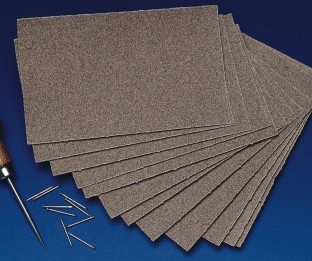 Sandpaper 100 Grit Medium Grain (Pack of 12) - Image 1 of 1
