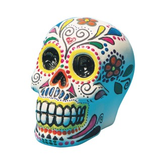 Color-Me™ Ceramic Bisque Skull Banks (Pack of 12) - Image 1 of 1