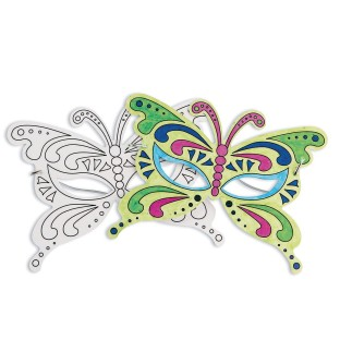 Butterfly Half Masks (Pack of 24) - Image 1 of 5