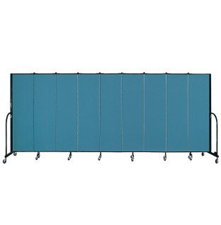 Screenflex Portable Room Divider - 9 Panel - Image 1 of 1