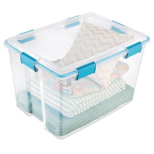 Sterilite® 80-Quart Storage Container With Gasket - Image 1 of 1