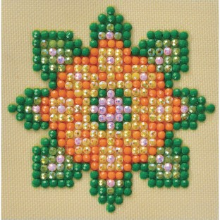 Flower Mandala Craft Kit (Pack of 10) - Image 1 of 2