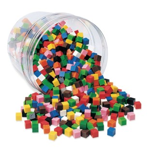 10-Color Centimeter Cubes (Set of 1000) - Image 1 of 1