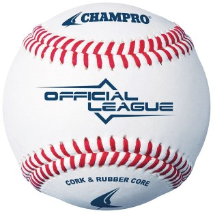 Champro® Official League Synthetic Leather Baseball - Image 1 of 2