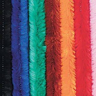 Colossal Chenille Stems/Pipe Cleaners - Assorted - Image 1 of 1