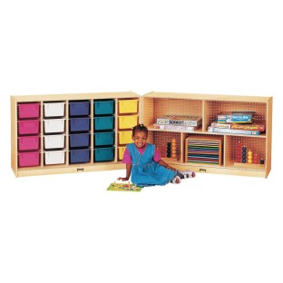 20-Tray E-Z Glide Fold-n-Lock with Color Trays - Image 1 of 1