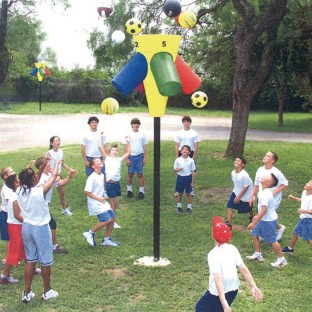 Gym-I-Nee™ Playground Hoop Game - Image 1 of 1