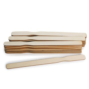 Laser Cut Wooden Paint Sticks (Pack of 50) - Image 1 of 2