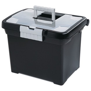 Sterilite® Portable File Storage Box with Handle - Image 1 of 1