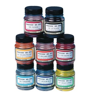 Procion® Cold Water Dye, 2/3 oz., Assorted Colors (Set of 8) - Image 1 of 1
