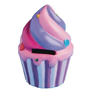 Color-Me™ Ceramic Bisque Cupcake Banks (Pack of 12) - Image 1 of 1