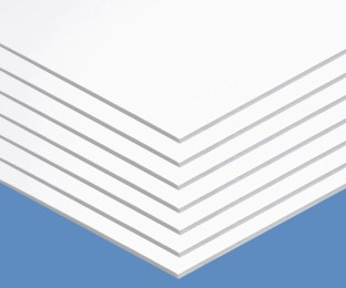 "Foam Board, 20"" x 30"", 3/16"" thick, White (Pack of 10) - Image 1 of 2"