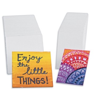 Mini Canvas Panel,  (Pack of 60) - Image 1 of 1